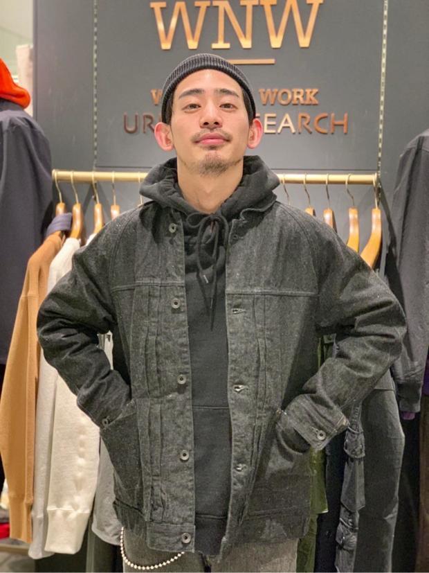 [WORK NOT WORK URBAN RESEARCH 阪急メンズ大阪店][アラヒ]