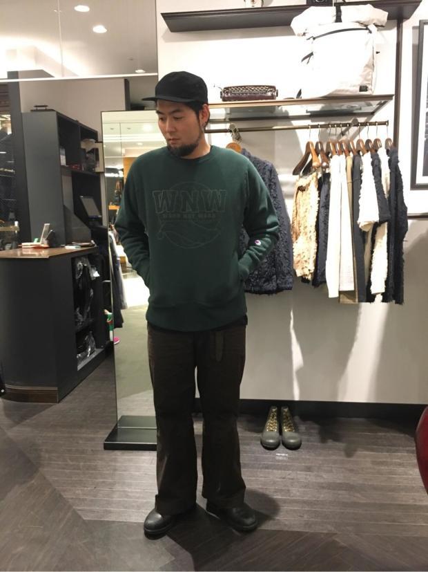 [WORK NOT WORK URBAN RESEARCH 阪急メンズ大阪店][阪口 祐嗣]