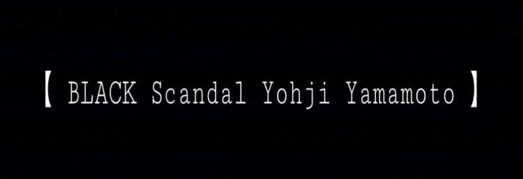 Black scandal yohji yamamoto luiscityluis black scandal yohji yamamoto luiscityluisexstore pal closet voltagebd Images
