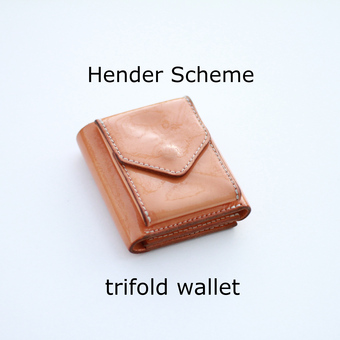 trifold wallet魅惑の経年変化
