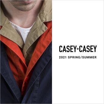 21SS CASEY CASEYはカーキもおススメ