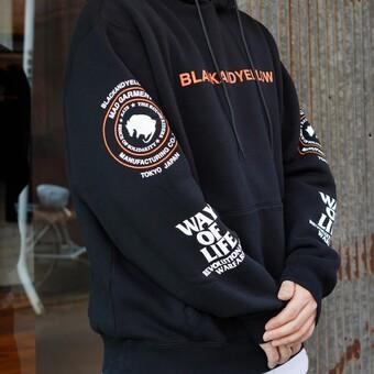RATS - MC HOODIE BLACK