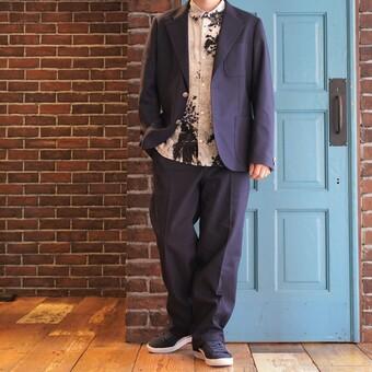The Stylist Japan  : HOPSACK SET UP