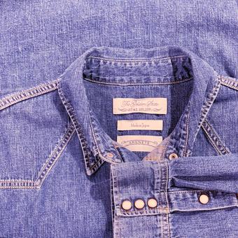 REMI RELIEF / 【ONLY ARK】別注 デニムウエスタン ビッグシャツ