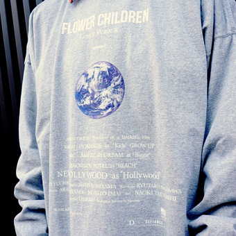 "<DAIRIKU> ""Earth"" Thrift L-S Tee"