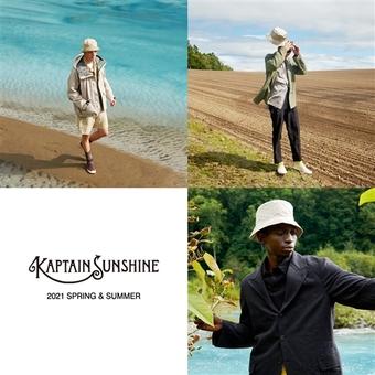 < KAPTAIN SUNSHINE >新入荷と再入荷