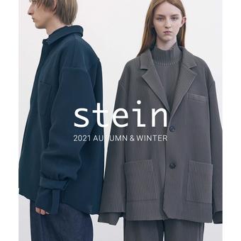 <stein(シュタイン)>21AW 今週末立ち上げです。