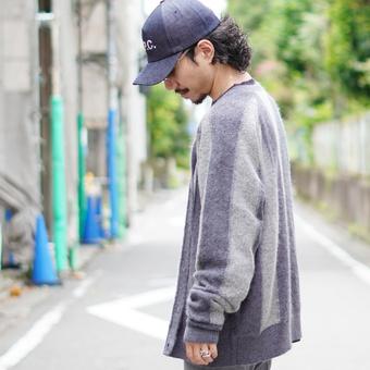 <UNUSED(アンユーズド)>Knit Cardigan