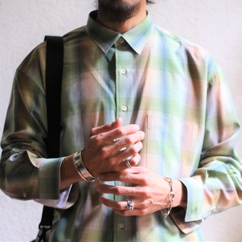 【AURALEE】CHECK SHIRTS