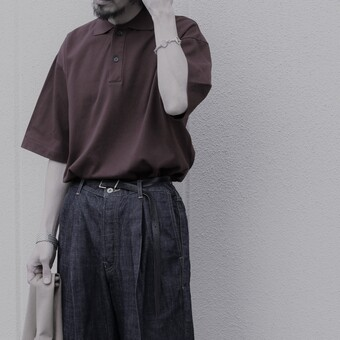 【AURALEE】BIG POLO.