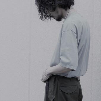 【AURALEE】SEAMLESS CREW NECK HALF SLEEVE TEE