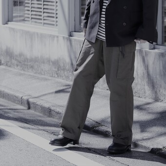 【PORT BY ARK】M-47 Military Trousers.