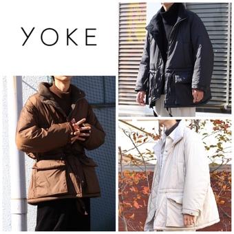 【YOKE(ヨーク)】冬に向けて、アウターをお探しの方へ