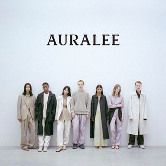 AURALEE 2021 SS LOOK BOOK