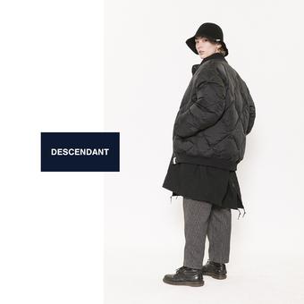 【DESCENDANT】CRIKET NYCO JACKET