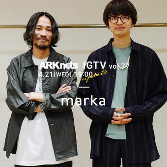 <マーカ>21SS 別注アイテムのご紹介!【ONLY ARK】