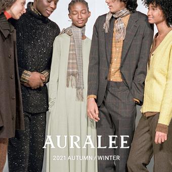 【AURALEE(オーラリー)】秋冬アイテムが着々と、