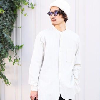 ハマる一品#31-バンドカラーシャツ-