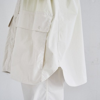 CARGO POCKET UTILITY SHIRT
