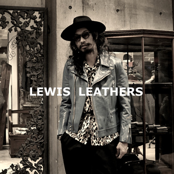 Lewis Leathers の ターコイズカラー