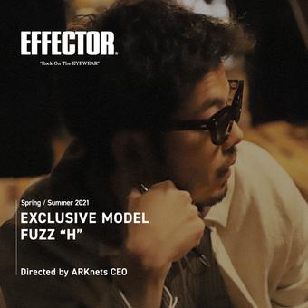 EFFECTOR 【別注】 FUZZ H 特設