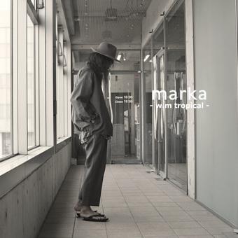 marka -ウールトロピカルのセットアップ-