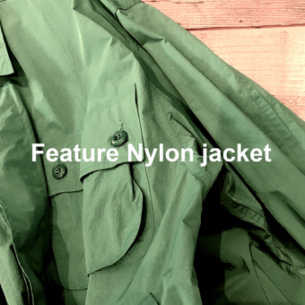 Feature Nylon jacket