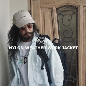 オススメ!ナイロンウェザージャケット