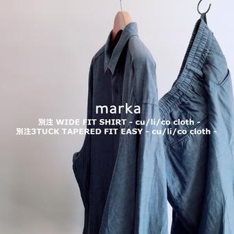 ONLY ARK / marka ワイドフィットシャツ、3タックパンツ