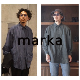 通年着用可能な WIDE FIT SHIRT - cu/li/co cloth -