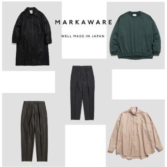 MARKAWARE 21AW ご予約受付中