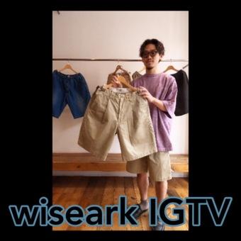 オススメのTシャツ、ショーツ、IGTVUPいたしました。
