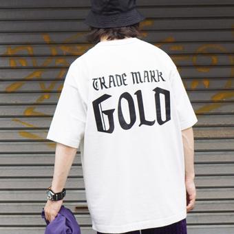 GOLD【ゴールド】 ロゴTを着る。そしておすすめする。