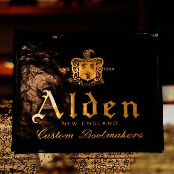 ALDEN-久しぶりのコードヴァン入荷です!
