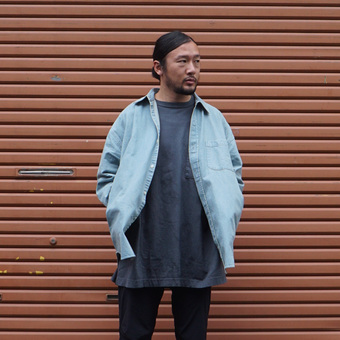 10oz. DENIM BIG SHIRTに関して。