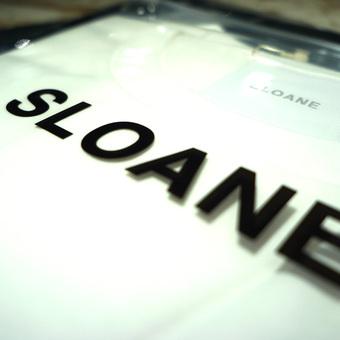 SLOANEの60/2 コットン天竺 Tシャツ入荷しました。