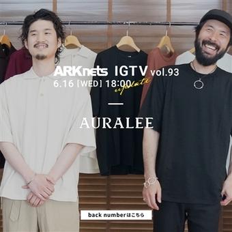 【AURALEE】IGTV