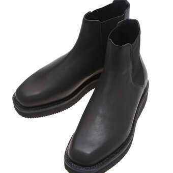 < AURALEE > LEATHER SQUARE BOOTS入荷