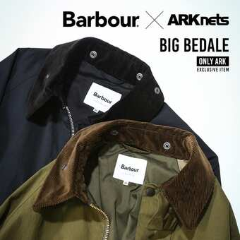 Barbour(バブアー) 別注 BIG BEDALE 2021.9.18 release