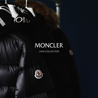 【 2021.10.01 fri 】MONCLER / モンクレール 21AW release