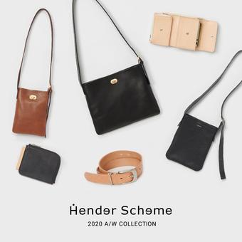 「Hender Scheme」 20AW 立ち上がりました。