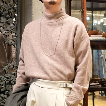 【PORT by ARK】Mock neck knit。