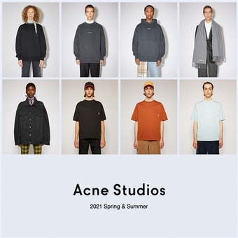 【Acne Studios】21SS COLLECTION。