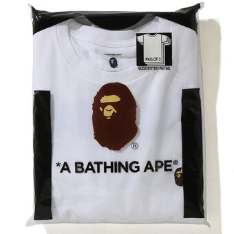 「APE×READYMADE 3PC TEES」