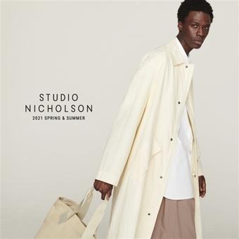 【STUDIO NICHOLSON】New arrival。