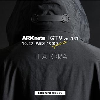 【TEATORA】 IGTV UP。