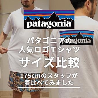お悩み解決!IGTVにてパタゴニアのTシャツサイズ比較!