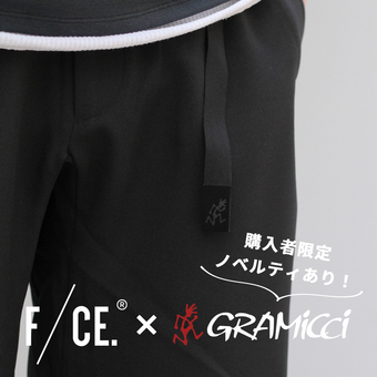 <F/CE. × GRAMICCI>コラボパンツ発売!