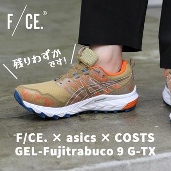 <F/CE.>残りわずか!×アシックス ゲルフジトラブーコ9GT-X