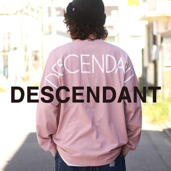 "<DESCENDANT> ""CETUS JERSEY LS"" 新色ピンクも着てみました!"